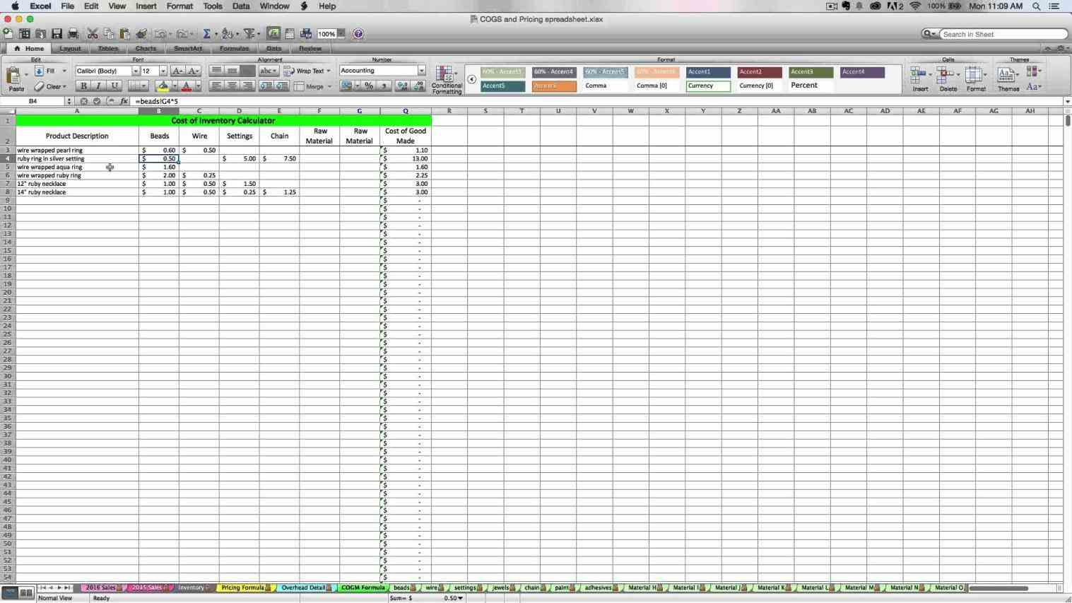 tutorial for excel spreadsheets free download