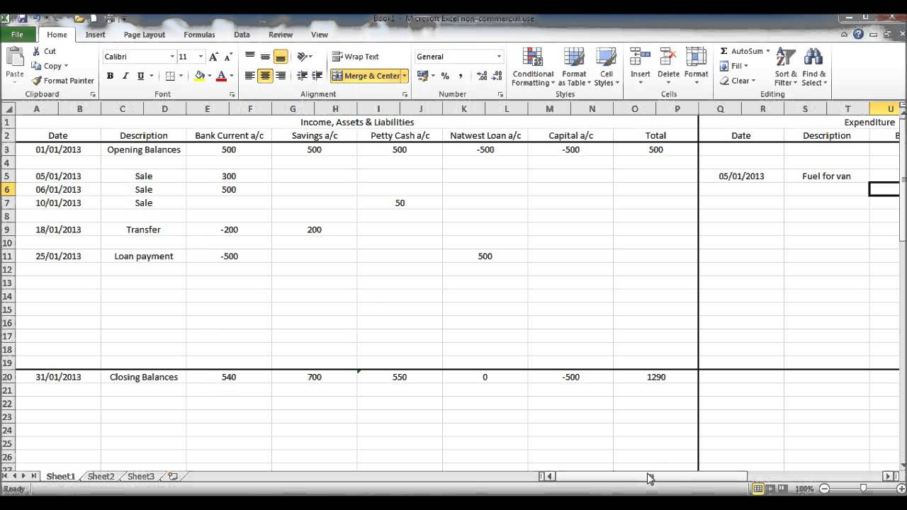 tutorial how to set up accounts payable spreadsheets