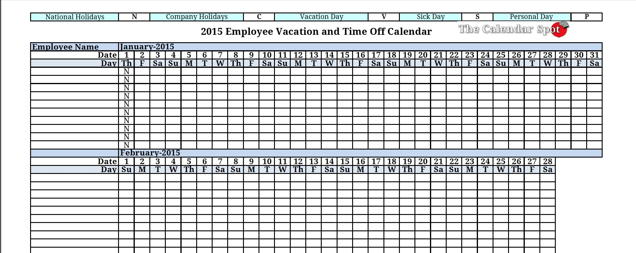 vacation accrual formula spreadsheet