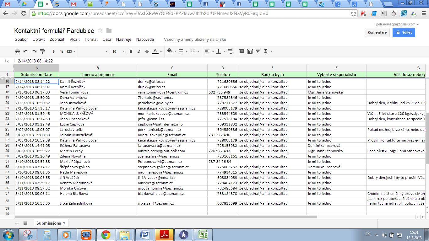 what is a google docs spreadsheet