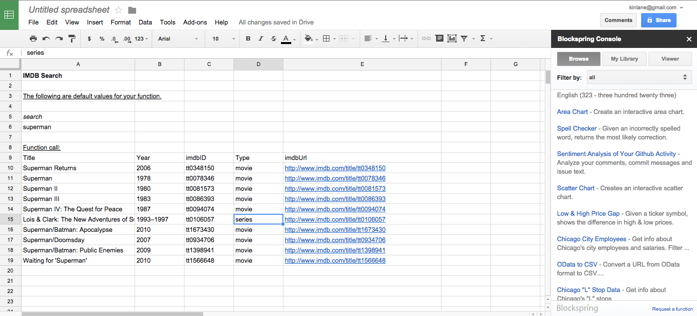 what is a google spreadsheet