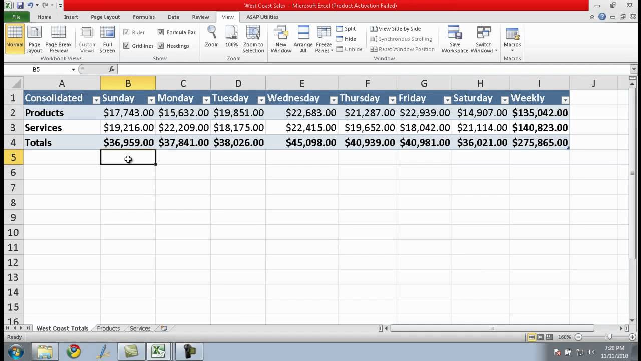 what is an open document spreadsheet in excel