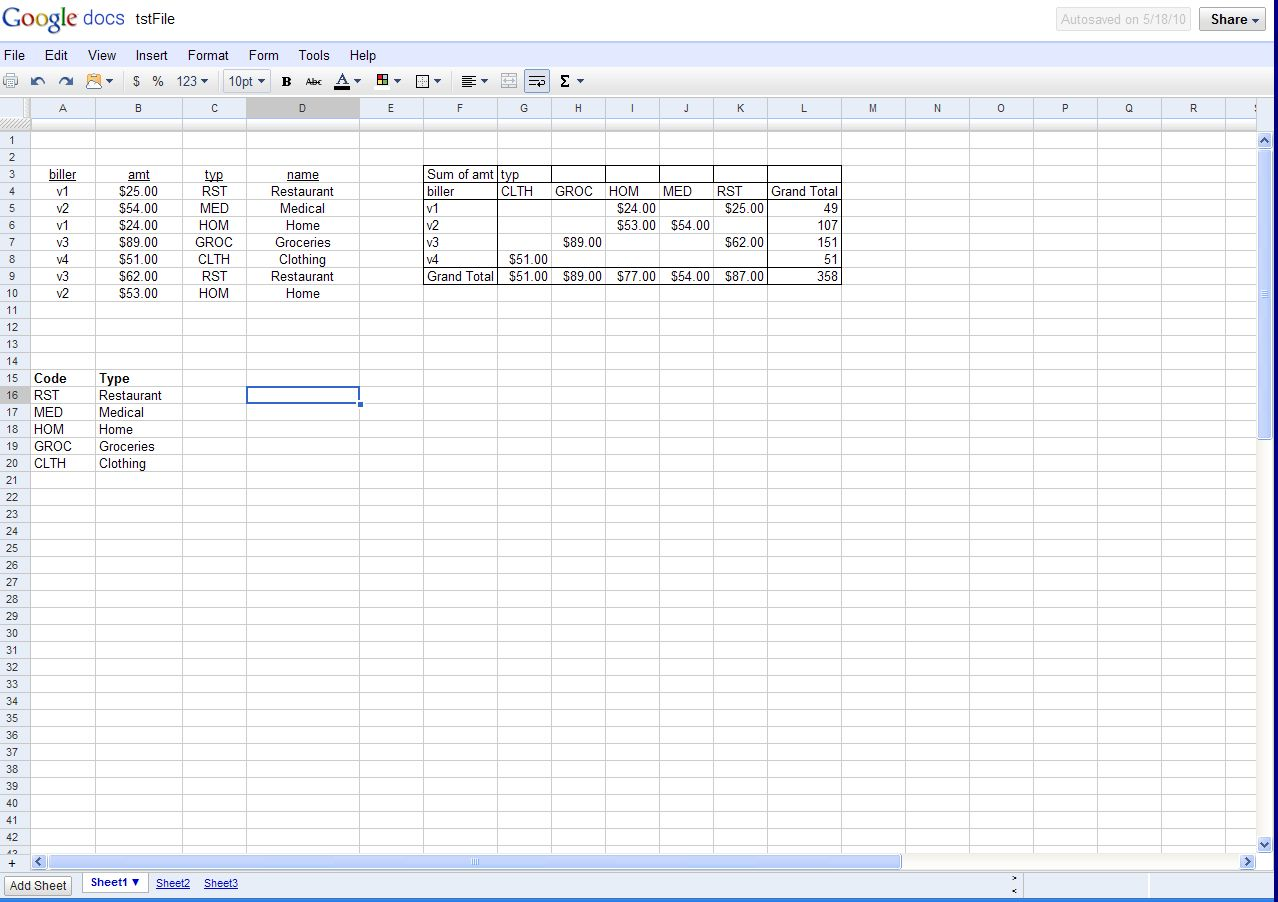 what is google docs spreadsheet