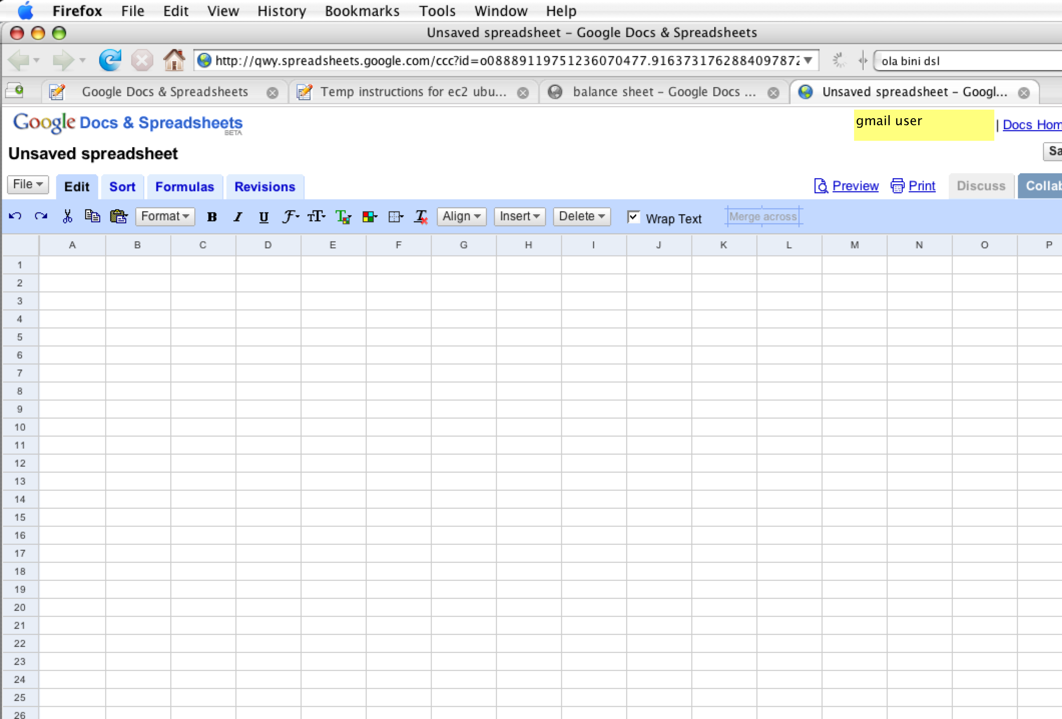 what is google spreadsheet key tutorial