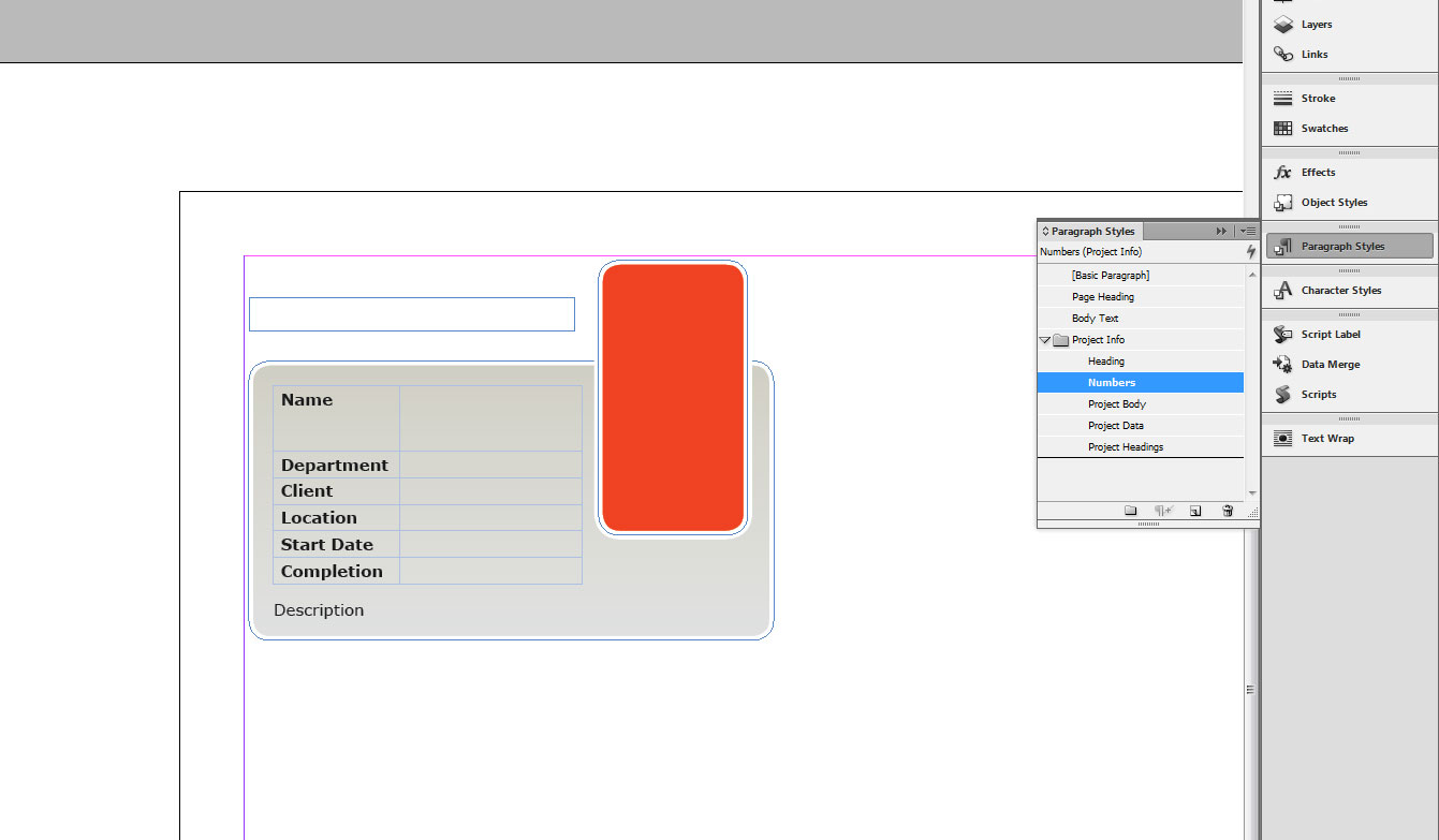 working with tables in indesign