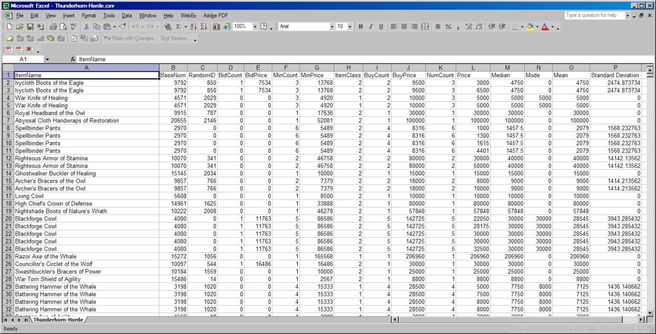 xcel spreadsheet free download